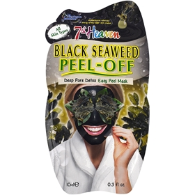 Ansiktsmask Montagne Jeunesse 7th Heaven Black Seaweed Peel Off Masque, 10 ml, 3608195