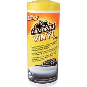 Rengöringsservetter Armor All Vinyl Wipes Blank Finish, 36-pack, 3804490