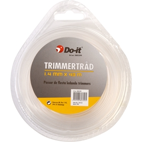 Trimmertråd Do-it, universal 1,4 mm x 43 m, 3802399