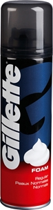 Raklödder Gillette Foam Regular, 200 ml, 3600268