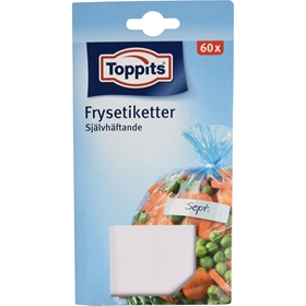 Frysetiketter Toppits, 60-pack, 3109463
