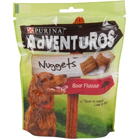 Hundgodis Purina Adventuros Nuggets Boar Flavour, 90 g, 4005946