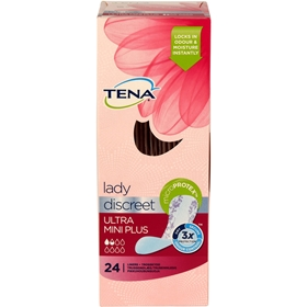 Bindor Tena Lady Ultra Mini Plus, 24-pack, 3606705