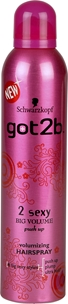 Hårspray Schwarzkopf got2b 2 Sexy Big Volume, 300 ml, 3605024