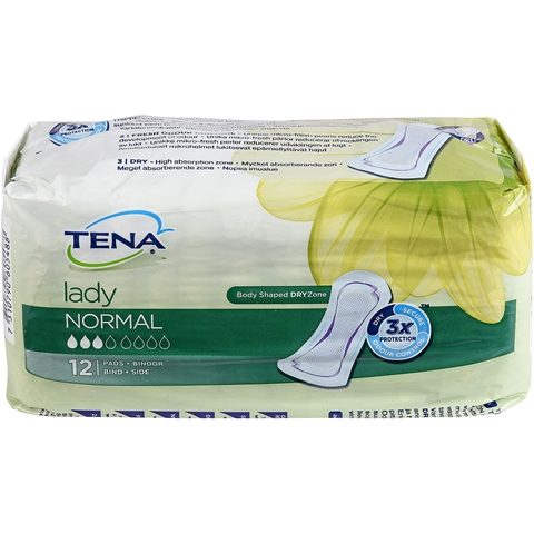 Bindor Tena Normal, 12-pack, 3601746