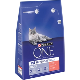 Torrfoder Purina One Adult Lax, 3 kg, 4100388