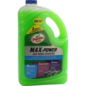 Bilschampo Turtle Wax Max Power, 2,95 liter, 3804530
