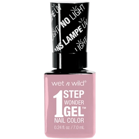 Nagellack Wet n Wild 1 Step WonderGel Nail Color 721A Pinky Swear, 7 g, 3607337