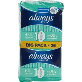 Bindor Always Ultra Normal Plus, 28-pack, 3603114
