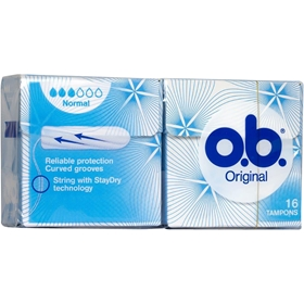 Tamponger o.b. Normal, 16-pack, 3600296