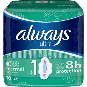 Bindor Always Ultra Normal, 10-pack (10x5 g), 1601691