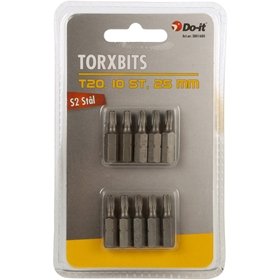 Bits Do-it, torx 20 25mm 10-pack, 3801680