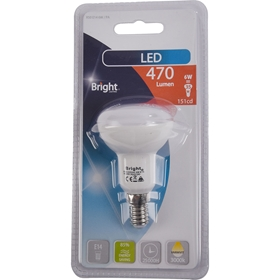 LED-lampa E14 Bright, 6W spot 470 lm, 5000193