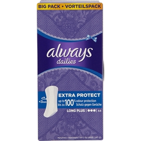 Trosskydd Always Long Plus, 44-pack, 3607601