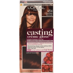 Intensivtoning L'Oréal Paris Casting Creme Gloss 454 Chocolate Brownie, 160 ml, 3605129