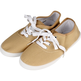 Skor, canvas 36-40, beige, 5001993