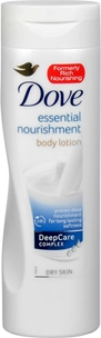 Bodylotion Dove Essential Nourishment, 250 ml, 3604520