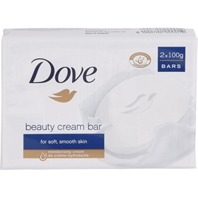 Tvålar Dove Beauty Cream Bar, 2-pack (2x100 g), 3603575