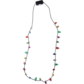 Halsband LED Julkulor, 1109233