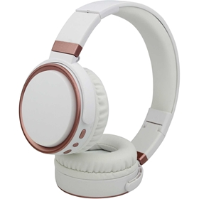 Trådlösa hörlurar Connect K6, bluetooth over-ear, vit, 5001193
