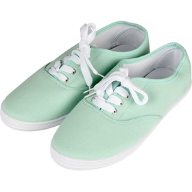 Skor, canvas 36-40, mint, 5001992