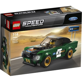 Byggklossar LEGO Speed Champions: 1968 Ford Mustang Fastback, nr 75884, 3111413