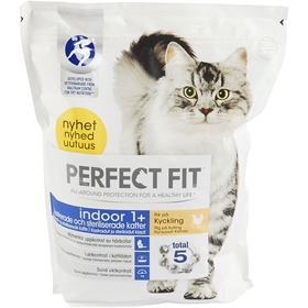 Torrfoder Perfect Fit Indoor 1+ Kyckling, 1,4 kg, 4100186