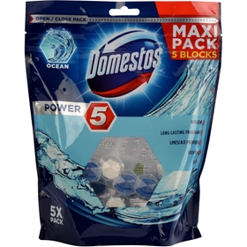 WC-block Domestos Ocean, 5-pack, 3608913