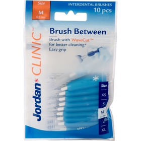 Mellanrumsborste Jordan Clinic Brush Between Medium, 10-pack, 3608524