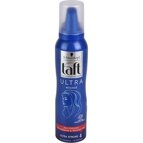 Hårmousse Schwarzkopf Taft Ultra Fixing Mousse, 150 ml, 3603875