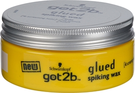 Hårvax Schwarzkopf got2b Glued Spiking Wax, 75 ml, 3605395