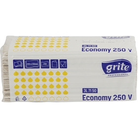 Pappershanddukar Grite Economy, 250-pack, 3604546