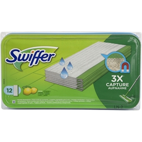Golvmopp Swiffer Floor, refill wet 12-pack, 3608641