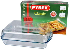 Ugnsformar Pyrex, Classic glas 2-pack, 3109102