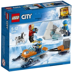 Byggklossar LEGO City: Arktiskt utforskningsteam, nr 60191, 3111578