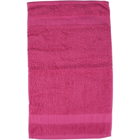 Gästhandduk, frotte 30x50 cm, rosa, 3109653