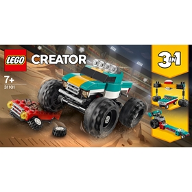 Byggklossar LEGO Creator Monstertruck 31101, 3113242