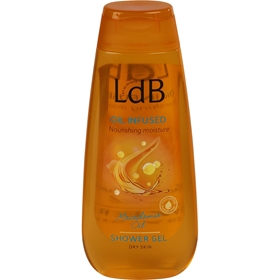 Duschgel LdB Oil Infused Shower Gel, 250 ml, 3607230