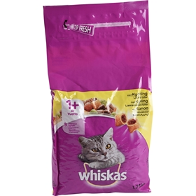 Torrfoder Whiskas Dental Protection Kyckling, 1,75 kg, 4004573