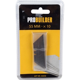 Knivblad ProBuilder, 55mm 10-pack, 3804756