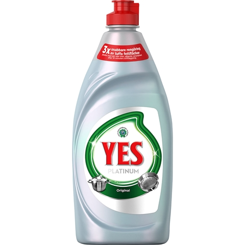 Diskmedel Yes Platinum, 480 ml, 3607875