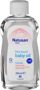 Babyolja Natusan First Touch, parfymfri 200 ml, 3603179