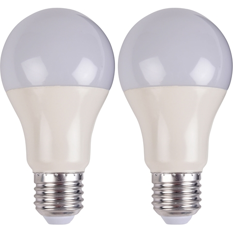 LED-lampa E27, 4,5W klot 350lm 2-pack, 5000224