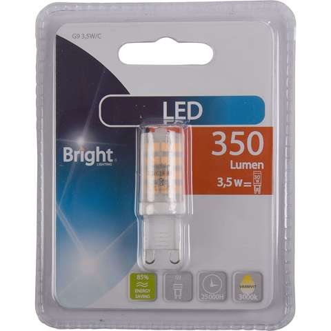 LED-lampa G9 Bright, 3,5W 350 lm, 5000206