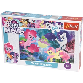 Pussel Trefl My Little Pony The Movie, 60 bitar, 3111474