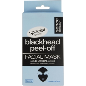 Ansiktsmask Sencebeauty Blackhead Peel-Off, 5-pack, 3607822