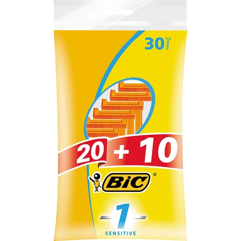 Rakhyvel Bic 1 Sensitive, 30-pack, 3602355
