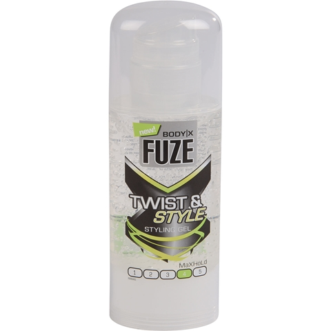 Hårgelé Body-X Fuze Twist & Style Max Hold, 150 ml, 3606877