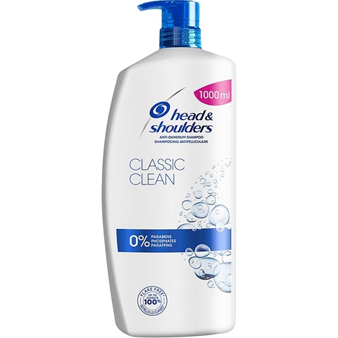 Schampo & balsam Head & Shoulders Classic 2-in-1, 1 liter, 3606593
