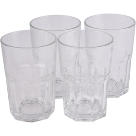 Caffe latteglas, 37cl 4-pack, 5000014